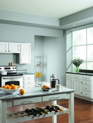 Kitchen trends 2012 for Best color for kitchen cabinets for resale