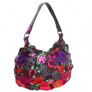 Betseyville Heart-y Head Hobo Bag- Black Mother's Day 2012