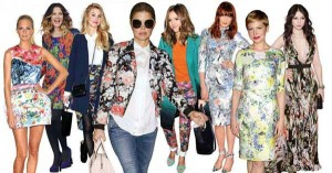 Celebrity 2012 Spring Fashion Trends