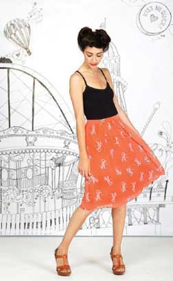 Fashion 2012 Trends-Spring Fashion 2012-Frolic-Skirt-£45