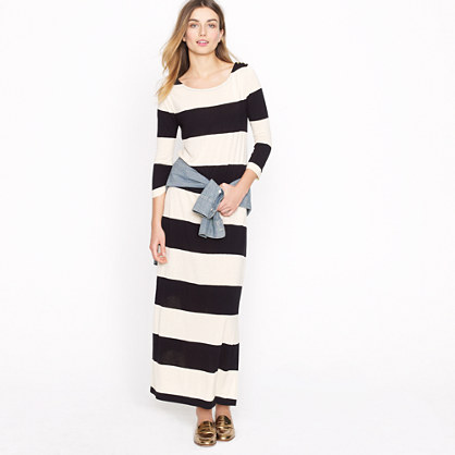Jcrew Long Maxi Dresses-Seaport maxi dress