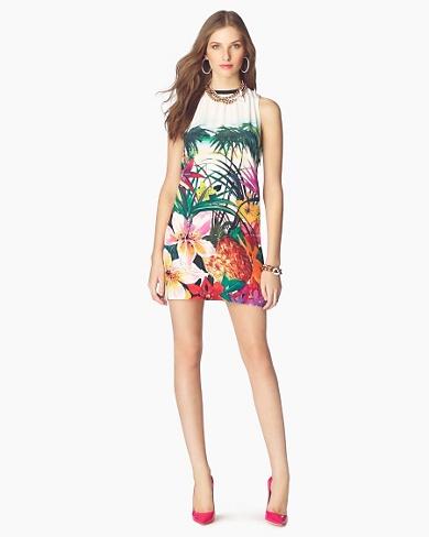 Juicy Couture Short Dresses 2012-Aloha Print Dress