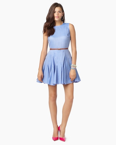 Juicy Couture Short Dresses 2012-Hollywood Chambray
