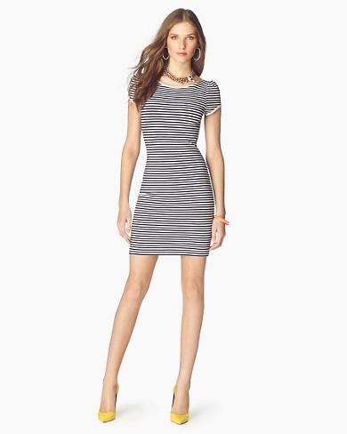 Juicy Couture Short Dresses 2012-Summer Stripe Dress