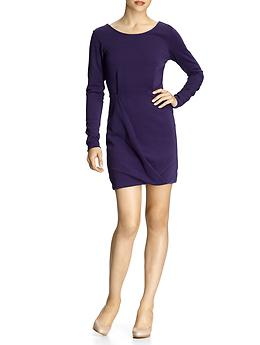 Long Sleeve Dresses, Dolman Sleeve Mini Dress