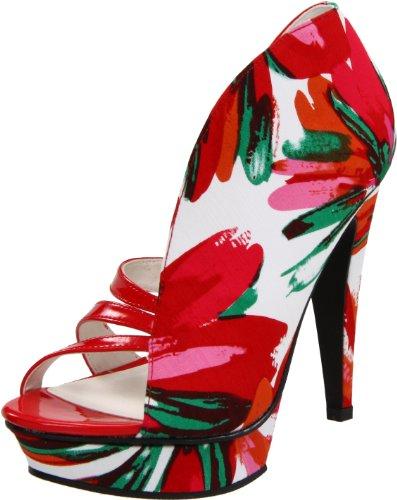 Michael Antonio Women's Floral Print Sandal