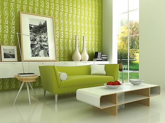 Modern Living Room Interior Designs 2012