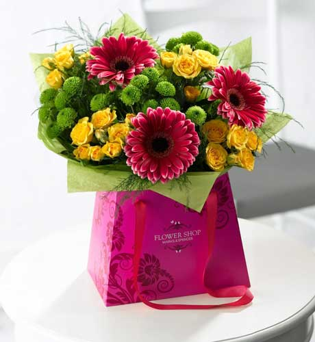Mother's Day Flowers 2012 Summer Brights Gift Bag