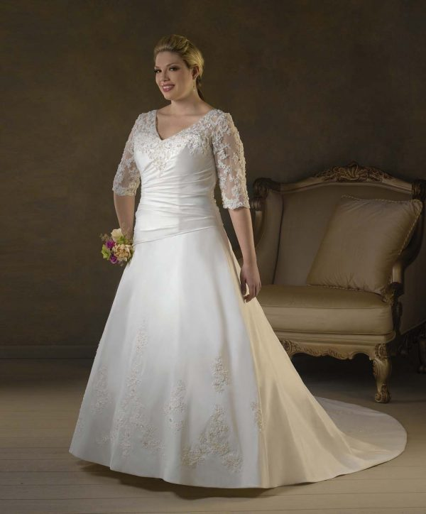 Buy plus size wedding dress online