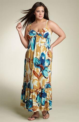 Upscale Plus Size Maxi Dresses 2012 (1)