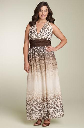 Upscale Plus Size Maxi Dresses 2012 (2)