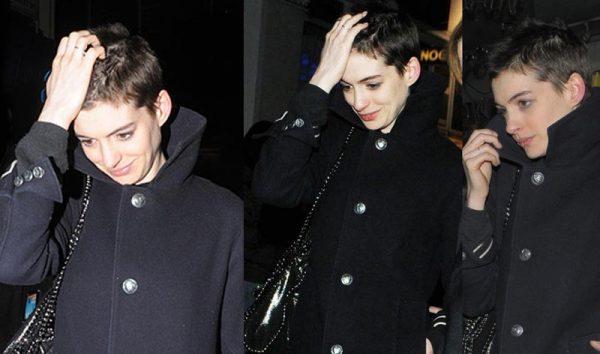 Anne Hathaway Haircut