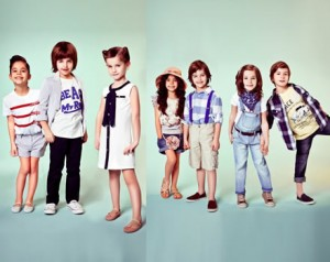 cotton kids clothes summer 2012