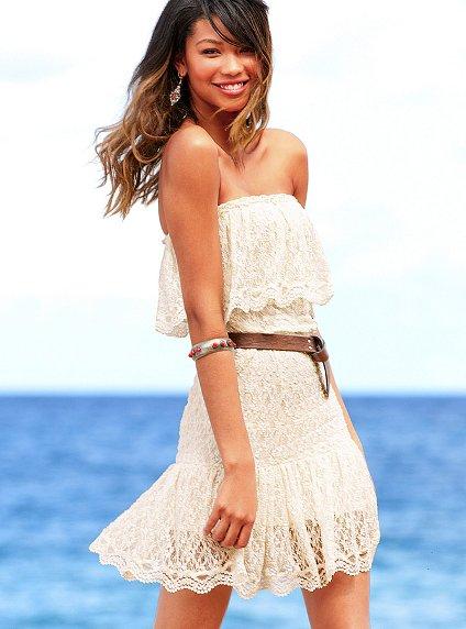 victoria secret white summer dresses 2012_1