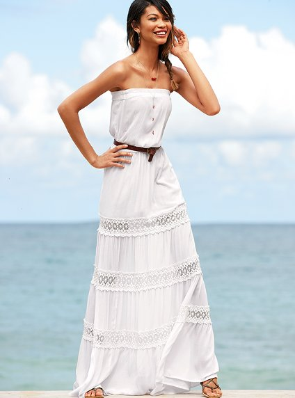victoria secret white summer dresses 2012_2