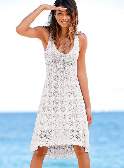 victoria secret white summer dresses 2012_3