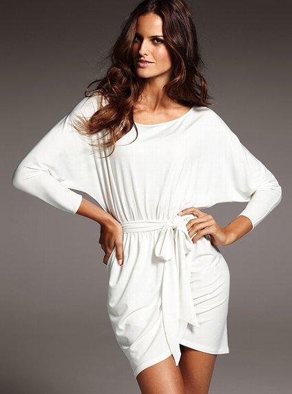 victoria secret white summer dresses 2012_5