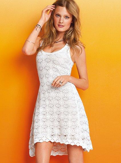 victoria secret white summer dresses 2012_6