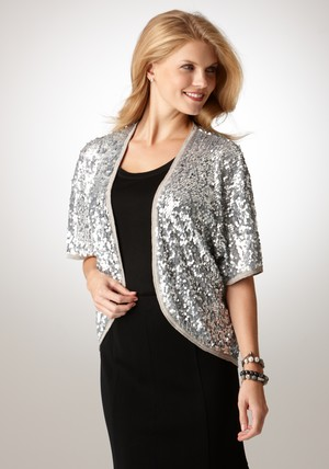 2012 Mother's Day Fashion Gifts-Sequin Shrug