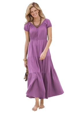 2012 Mother's Day Fashion Gifts-Peasant maxi dress by Only Necessities