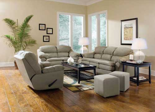 Aaron's Furniture Autumn Forest Living Room Group