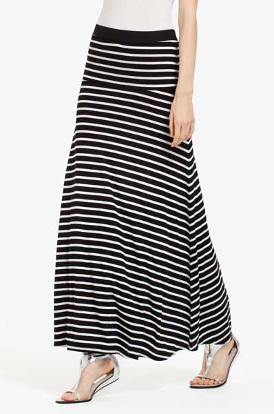 BCBG Women's Maxi Skirts 2012 - Karolin striped skirt