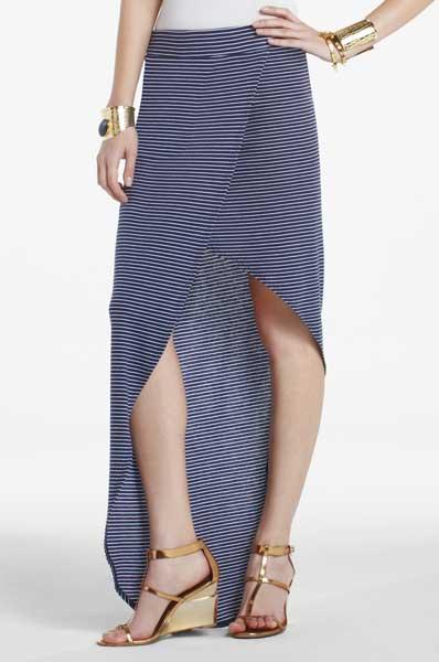 BCBG Women's Maxi Skirts 2012 - Mercer asymmetrical wrap skirt