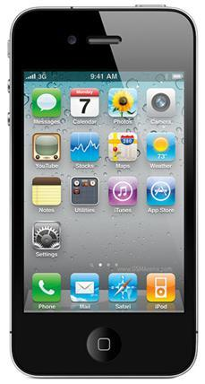 Father's Day Gifts 2012-Apple IPhone 4S 16 GB Black Smartphone - AT&T