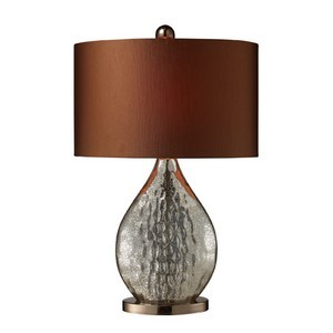 Father's Day Gifts 2012-Dimond Lighting D1889 Antique Mercury Glass Table Lamp
