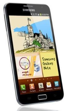 Father's Day Gifts 2012-Samsung Galaxy Note Blue Smartphone - Unlocked