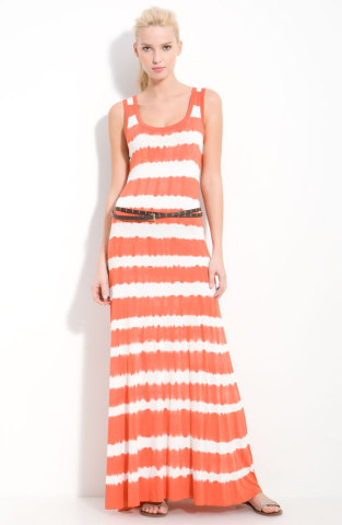 Memorial Day 2012-Calvin Klein Tie Dye Maxi Dress