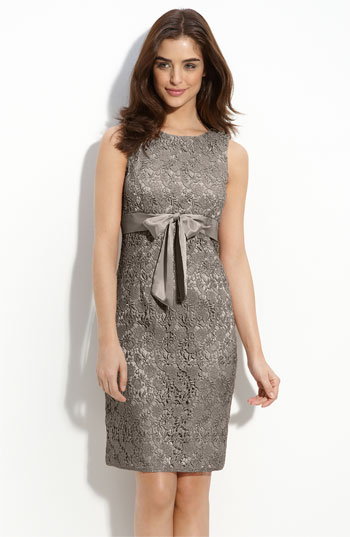 Memorial Day 2012-JS Collections Petite Lace Sheath Dress