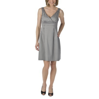 Memorial Day 2012-Mossimo crossover V-neck empire dress