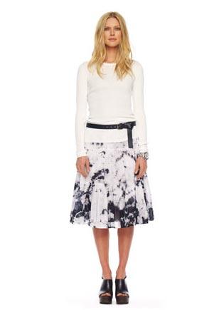 Michael-Kors-Tie-Dye-Ruffled-Skirt