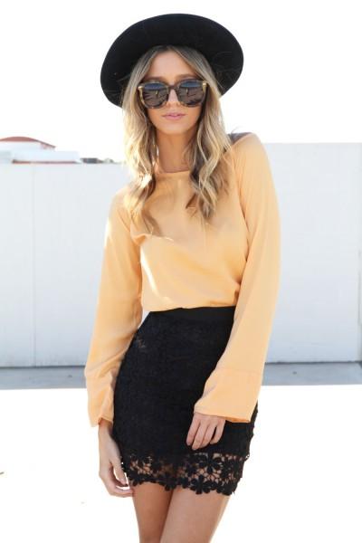 SABO SKIRT - Women's Mini Skirts lyla black skirt