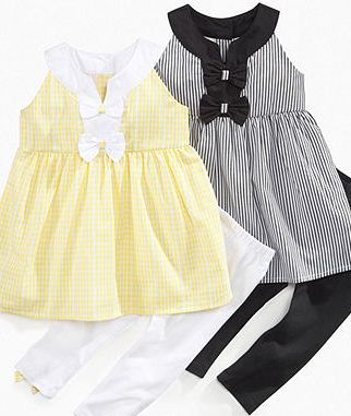 How to dress baby girls in summer