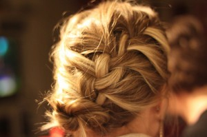 French braid hairstyle
