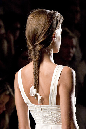 French braid hairstyle_1