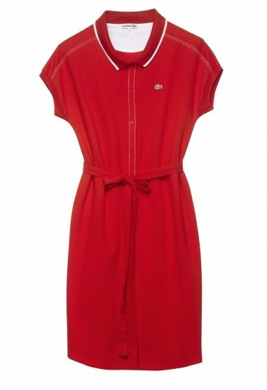 lacoste summer clothing 2012 for women