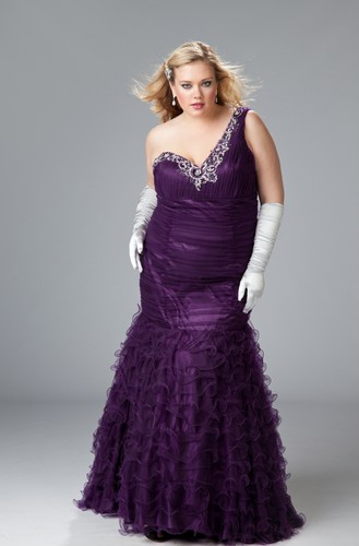 plus size prom dresses 2012