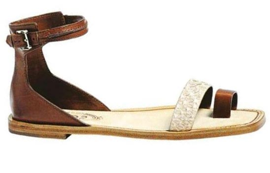 Ankle-Strap Sandals, Tod's