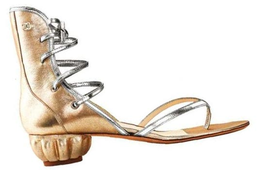 Leather Sandals, Chanel