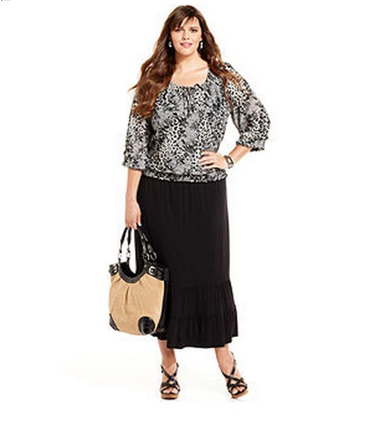Style&co-Plus-Size-Skirt,-Maxi-Ruffled