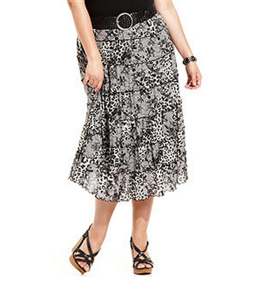 Style&co-Plus-Size-Skirt,-Printed-Tiered-Maxi