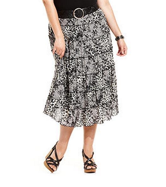 Plus Size Skirts 2012, Short, Maxi, Printed...