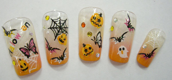 2012 halloween nail art designs halloween nail art designs2 prinsesfo Choice Image