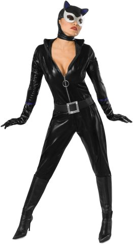 Womens Halloween Costume Ideas Catwoman character Halloween costume