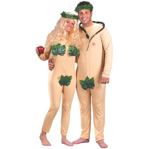 Couple Halloween costume ideas Adam & Eve Couples Halloween Costume