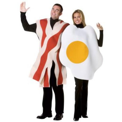 Couple Halloween costume ideas Bacon and Eggs