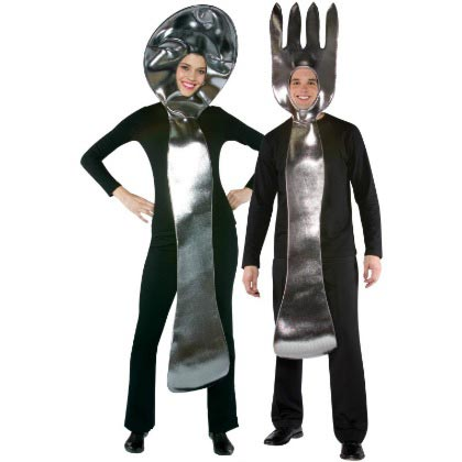 Couple Halloween costume ideas Spoon And Fork
